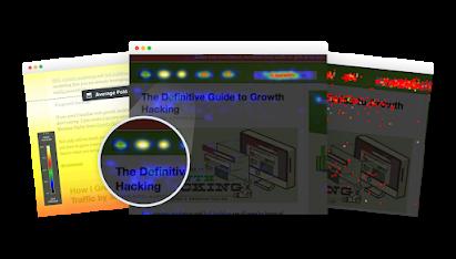 Crazy Egg Snapshot Reports - Heatmap Scrollmap Confetti