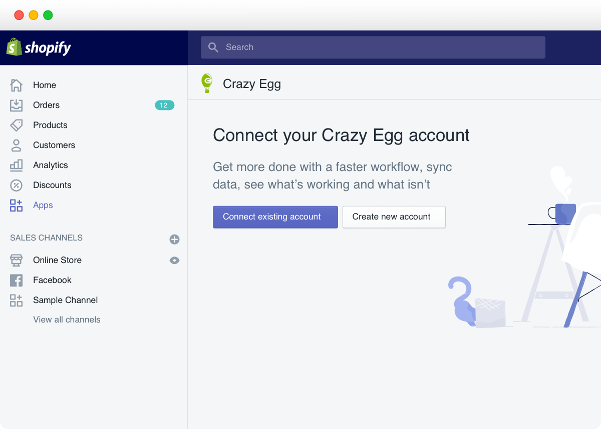 Crazy Egg with Shopify